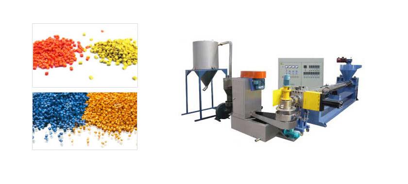 Plastic recycling pellets