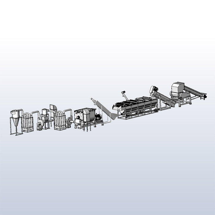 PET Cleaning Recycling Equipment