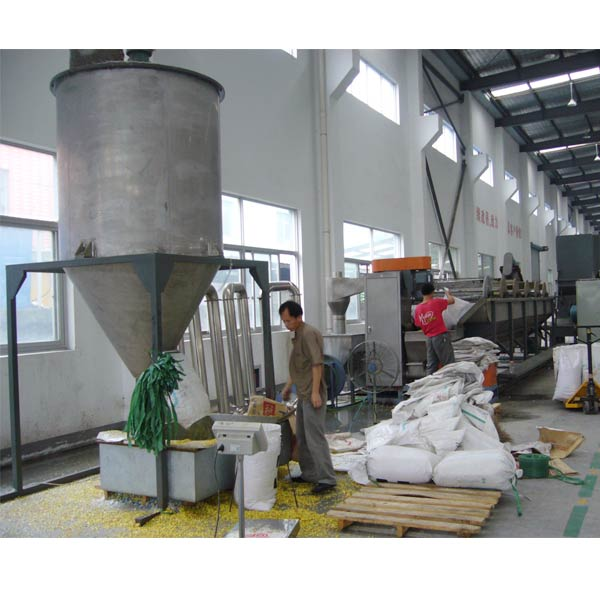 Extruding Water Ring Die Face Cutting Granulating Line