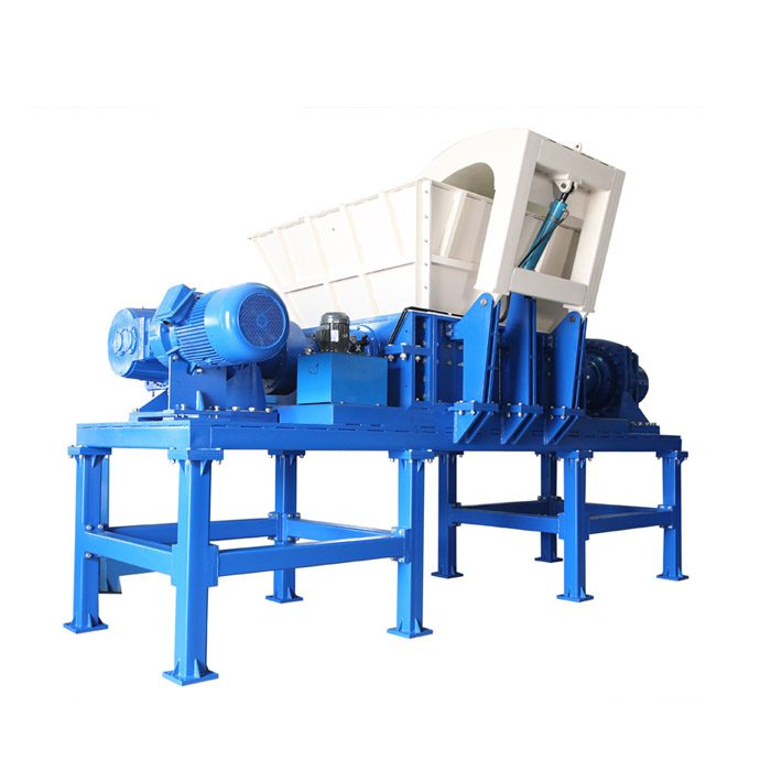 Double Shaft Metal Shredder