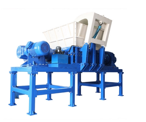 What Kind of Material is Suitable for Crushing the Double Shaft Shredder