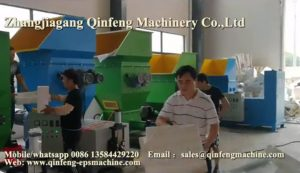 CF HM400 EPS Foam Hot Melter Recycling Machiney